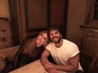 Duda Nagle curte programa romântico com Sabrina Sato em Nova York