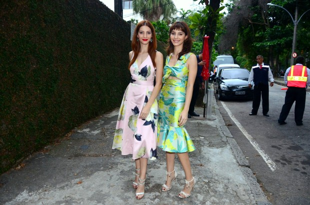 Michelle e Giselle Batista (Foto: Webert Belicio / Ag News )