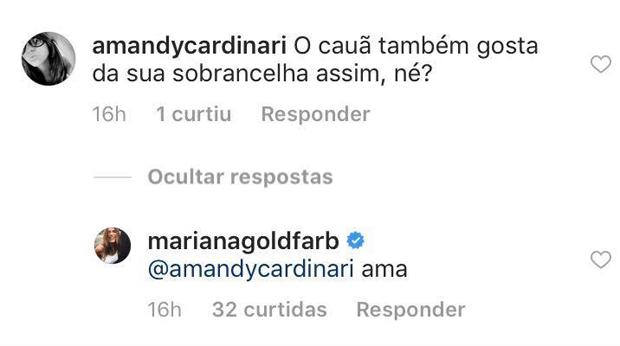 Mariana Goldfarb (Foto: Reprodução)
