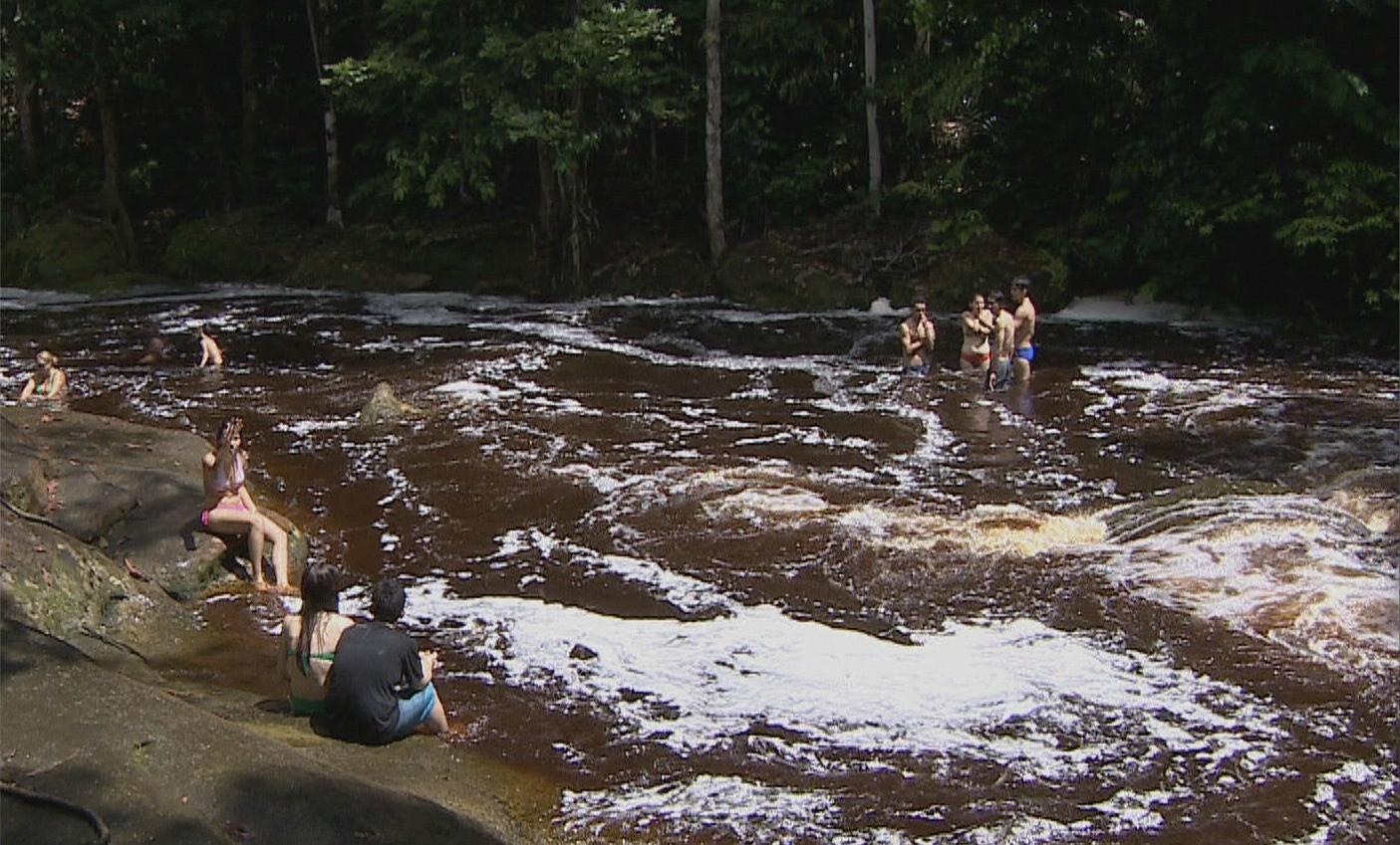 Município reúne mais de cem cachoeiras (Foto: Amazônia TV)