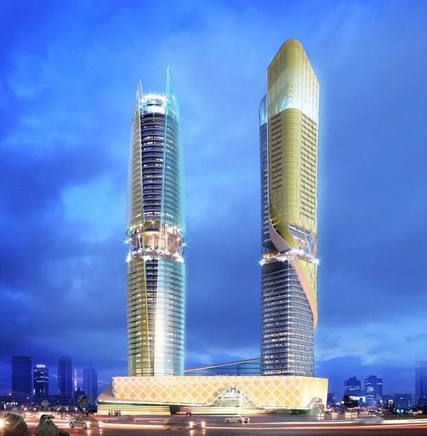 Com 450 quartos, o hotel será administrado pelo Hilton Mundo (Foto: Reprodução/Plompmozes)
