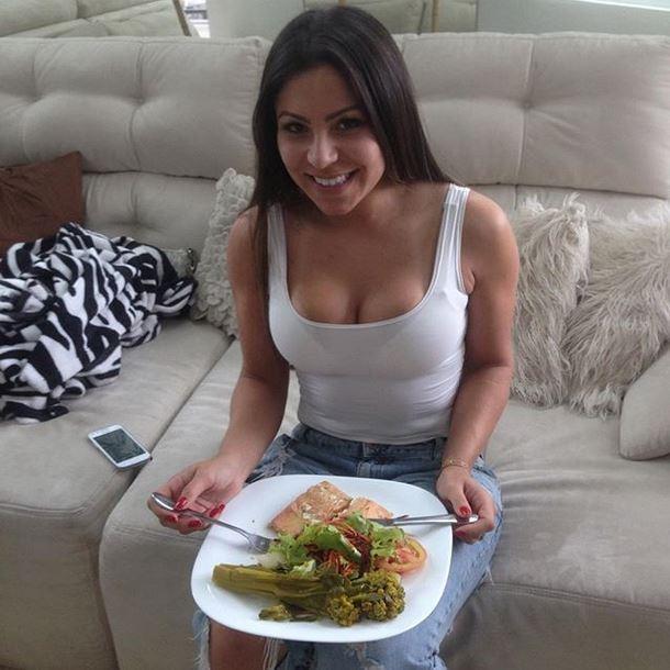 Andressa Ferreira em almoço de família (Foto: Reprodução_Instagram)