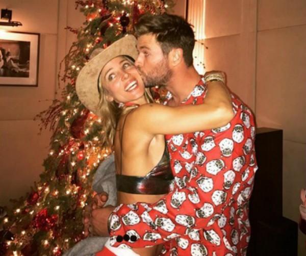 Elsa Pataky e Chris Hemsworth (Foto: Reprodução Instagram)