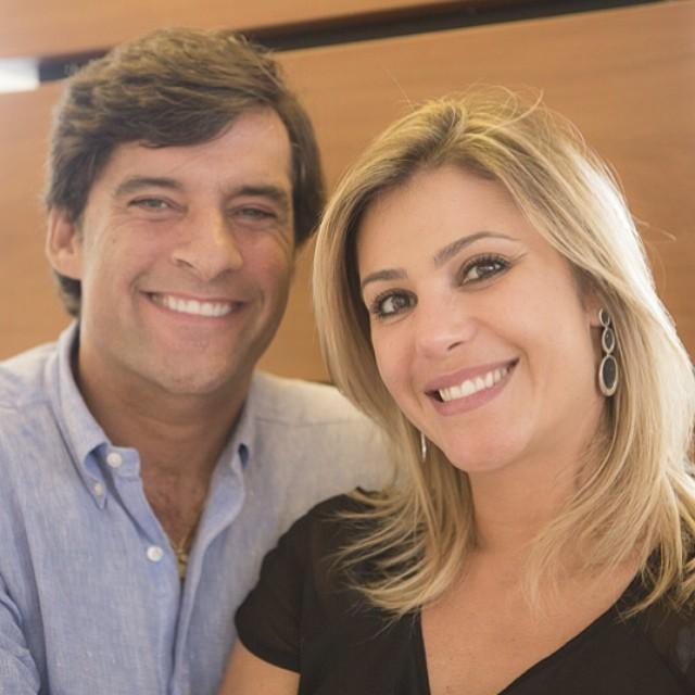 Flávia Freire e seu novo namorado, Miguel Roquette (Foto: Reprodução/Instagram)