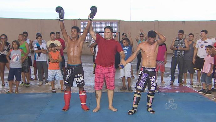 Torneio de muay thai movimenta o fim de semana em Macapá (Foto: Reprodução/TV Amapá)