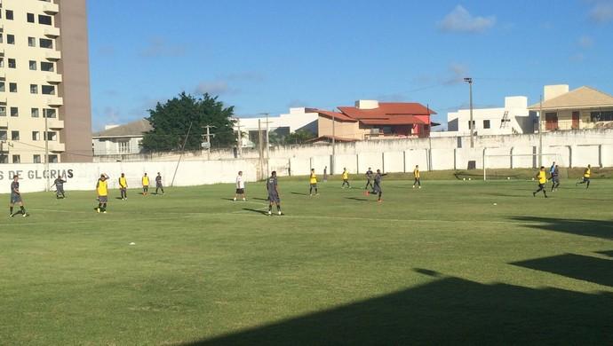 Treino ABC campo do CT Alberi Ferreira de Matos (Foto: Carlos Cruz/GloboEsporte.com)