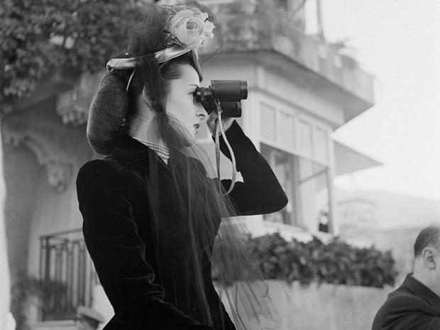 Elegância no Jockey Club em 1945 (Foto: Divulgação/MAR)