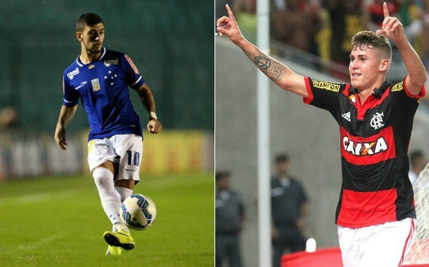 Cruzeiro e Flamengo se enfrentam pelo Campeonato Brasileiro (Foto: Divulgação / TV Sergipe)