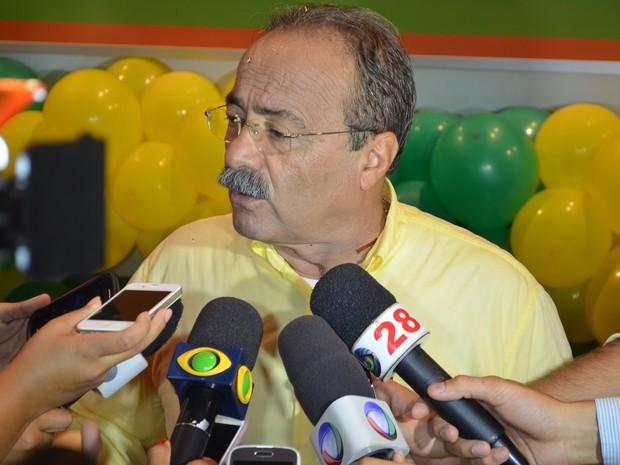 A candidatura de Chico Rodrigues (PSB) foi oficializada neste domingo (29) (Foto: Thiago J. Cabral/G1 RR)