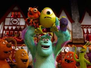 Cena do filme 'Universidade Monstros', segundo longa da franquia 'Monstros S/A' (Foto: Divulgação)