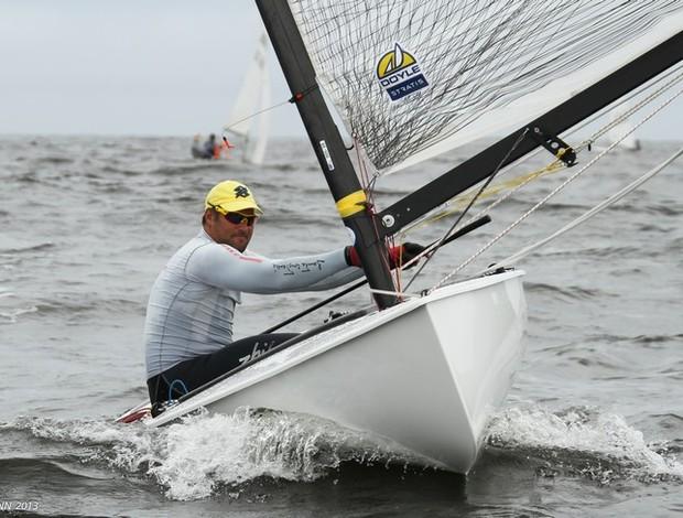 Bruno Prada velejador (Foto: Fred Hoffmann)