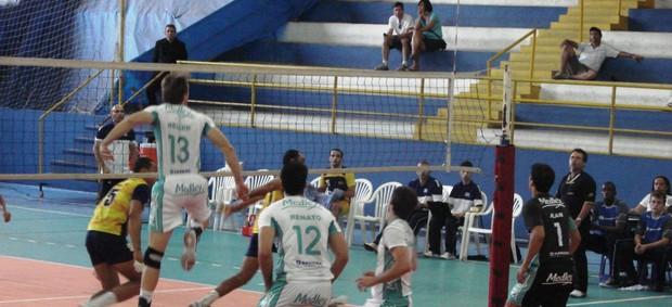 Vôlei Campinas joga contra São José (Foto: Filipe Rodrigues/ Globoesporte.com)