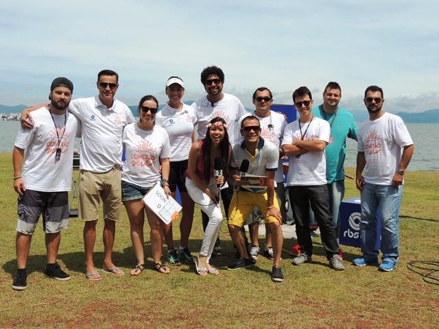 Equipe do Patrola (Foto: Géssica Valentini/RBS TV)