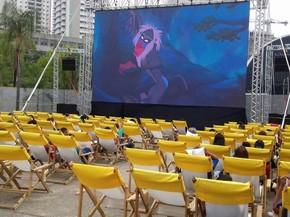 Sessões ocorrem de 18 a 21 de agosto, na Praça Arautos da Paz  (Foto: Cintia Maria de Almeida )