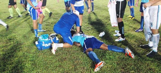 thales, atacante do atlético de cajazeiras, atlético-pb, atacante do atlético de cajazeiras, (Foto: Richardson Gray / Globoesporte.com/pb)