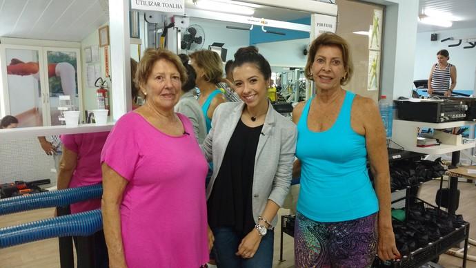 Irmãs participam do Sua Saúde (Foto: RBS TV/Divulgação)