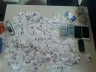 Trio é flagrado com 336 sacolés de cocaína em Resende, no Sul do Rio