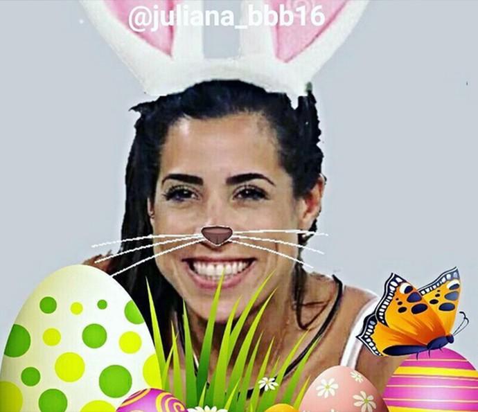 Ex BBB Juliana (Foto: Reprodução da Internet)