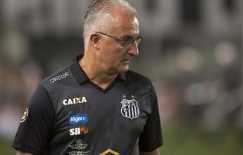 """Dorival chega à 100ª vitória e vibra por reação do Santos: """"Equipe digna"""""""