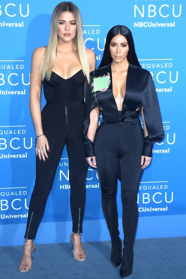 Khloe e Kim Kardashian (Foto: AKM/GSI)