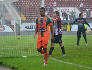 Atacante Monga Camboriú x Juventus (Foto: Rafael Nunes/CFC)