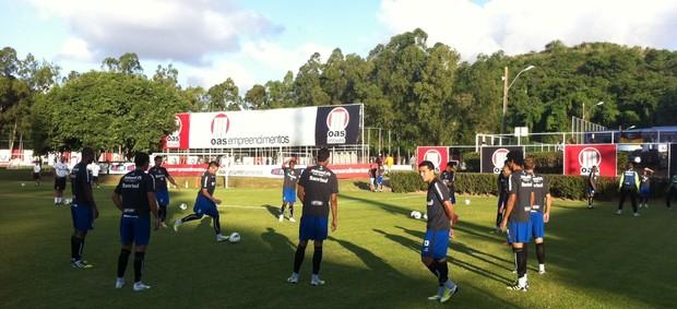 grêmio treino barradão bahia copa do brasil vitória salvador (Foto: Valquer da Rosa/RBS TV)