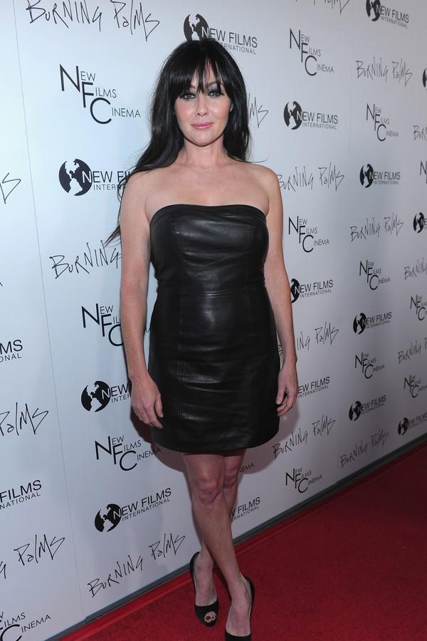 A atriz Shannen Doherty, de 'Barrados no Baile' (Foto: Getty Images)