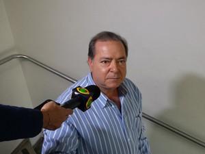 Joaquim Neto explicou que acompanhou Clésio Andrade durante a campanha (Foto: Raquel Freitas/G1)