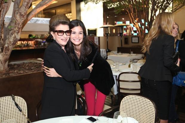 Costanza Pascolato e Caroline Ribeiro (Foto:  Leo Franco/AgNews)