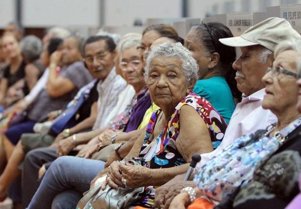 Terceira idade ; idosos ; velhice ; envelhecimento ; aposentadoria ;  (Foto: Reprodução/Facebook)