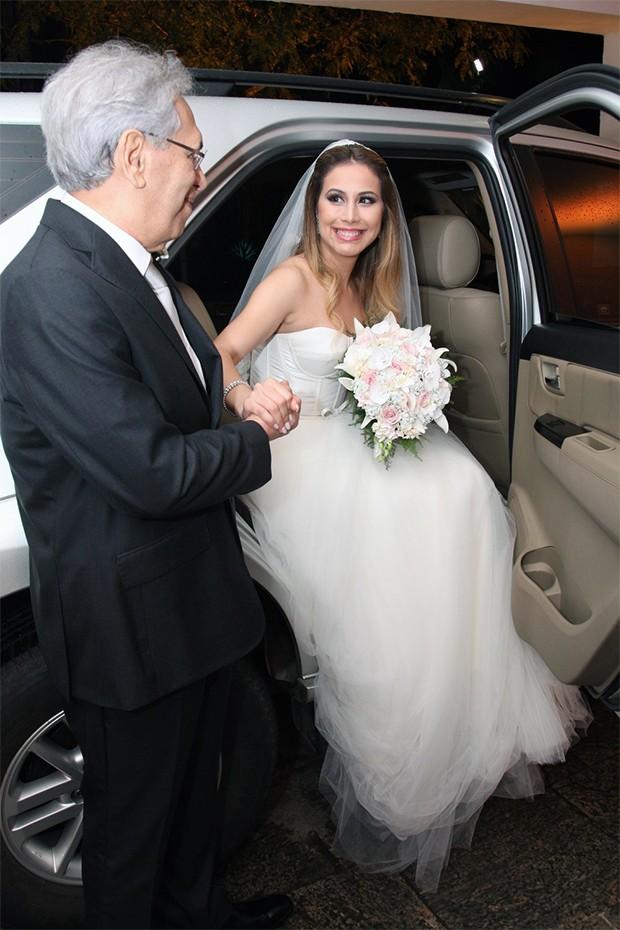 Tarcisio Neiva com a filha, Paula Neiva (Foto: Vera Donato Fotografias)