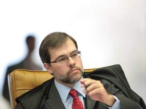 O ministro do STF, José Dias Toffoli, decidiu suspender a correção de planos econômicos (Foto: Carlos Humberto/SCO/STF)
