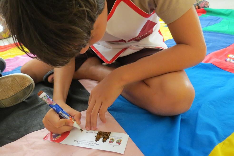 Escola adotou  formato de trabalho com salas multisseries e pedagogia de projetos (Foto: Escola Nossa Senhora do Carmo/acervo)