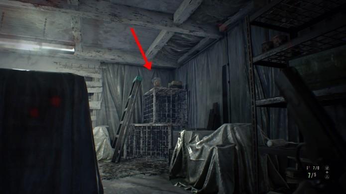 Segredo final permite o reparo de armas especiais de Resident Evil 7 (Foto: Reprodução/Felipe Demartini)