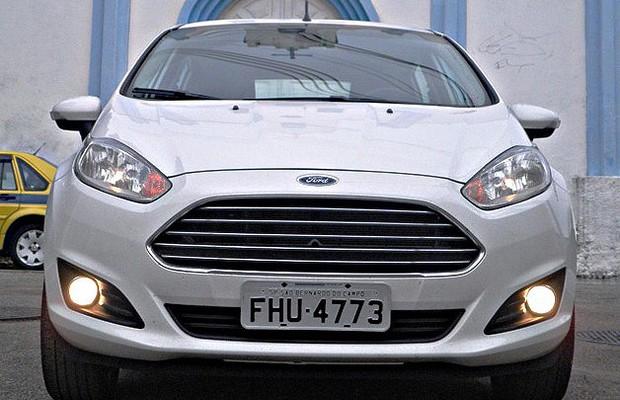 Ford Fiesta 1.6 Titanium (Foto: Julio Cabral/Autoesporte)