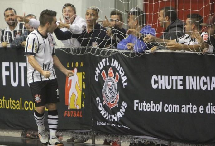 Deives Corinthians São José Liga Nacional de Futsal (Foto: Divulgação/Corinthians)