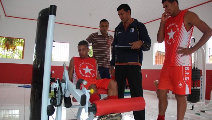 reapresentação rio branco-ac treino academia josé de melo jeferson (Foto: João Paulo Maia)