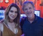 Letícia Spiller e Marcello Novaes  | Mauricio Fidalgo/ TV Globo