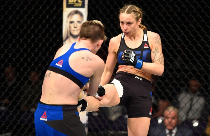 Nina Ansaroff, Jocelyn Jones-Lybarger, UFC, MMA (Foto: Getty Images)