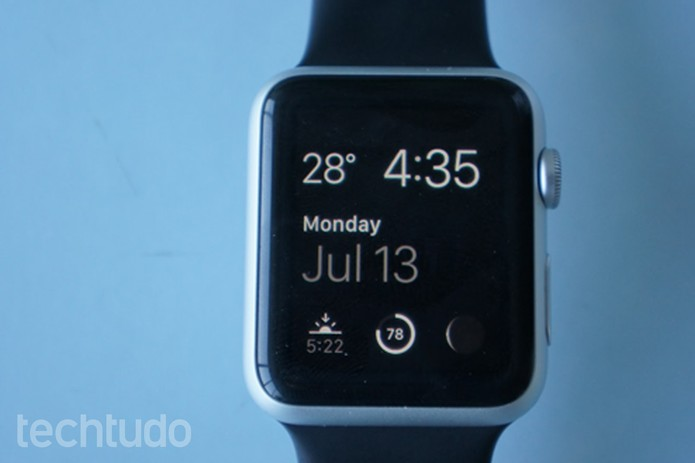 Confira o review do TechTudo para o smartwatch da Apple (Foto: Bernardo Dabul/TechTudo)