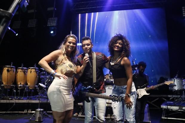 Fani e Erika Januza (Foto: Fred Pontes / Divulgação)