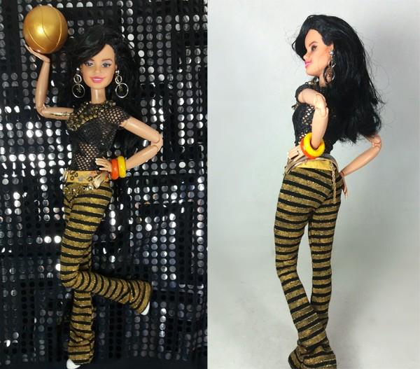 Gretchen recriada numa versão boneca pelo colecionador e designer Marcus Baby (Foto: Divulgação)