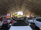 Shopping em Salvador recebe feirão de venda de carros novos