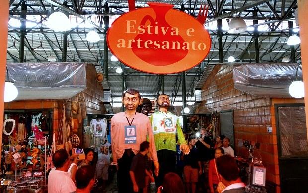 Ação de estreia dos programas de entretenimento da Rede Amazônica (Foto: Onofre Martins/Rede Amazônica)