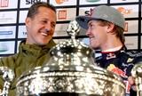 """""""Schumi foi o primeiro a recomendar Vettel à Ferrari"""", revela ex-presidente"""
