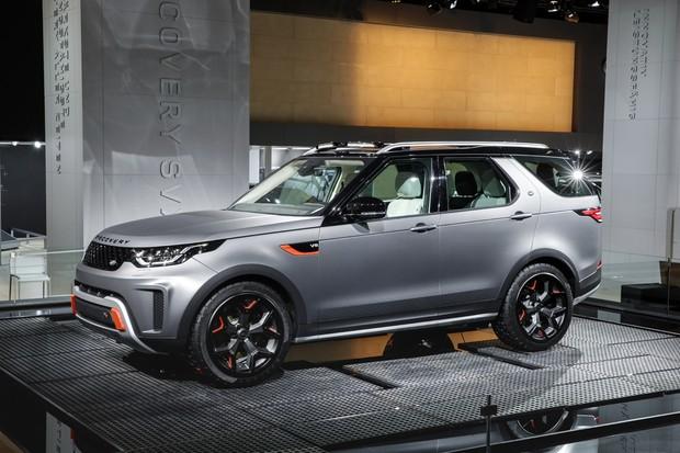Conheça os detalhes da versão mais casca-grossa do Land Rover Discovery