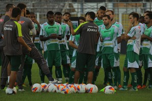 Luverdense, treino (Foto: Assessoria/Luverdense Esporte Clube)