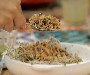 Cuscuz de couve-flor com cogumelo: receita da Bela Gil