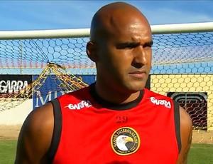 Danilo, goleiro do Globo FC (Foto: Reprodução/Inter TV Cabugi)