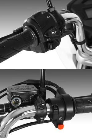Detalhes Honda CG 150 (Foto: Divulgação)